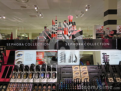 SEPHORA COLLECTIONS Editorial Stock Photo - Image: 47394618