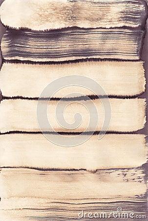 Free Sepia Brown Grunge Brushstroke Stain Royalty Free Stock Photo - 37779045