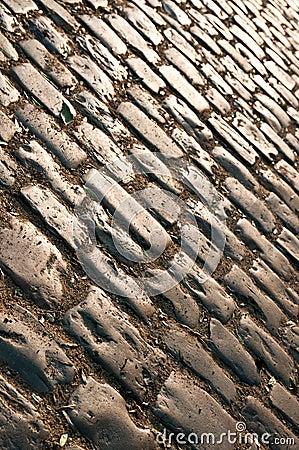 Sepia cobblestone