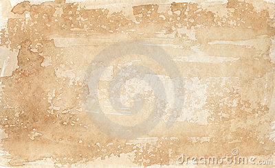 Sepia-coloured background 2- watercolors