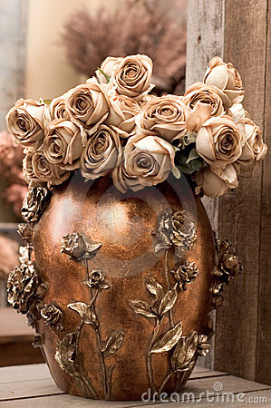 Sepia Flower Arrangement