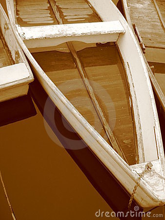 Free Sepia Rowboats In Maine Royalty Free Stock Photos - 172018