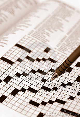 Sepia Tone Crossword Puzzle