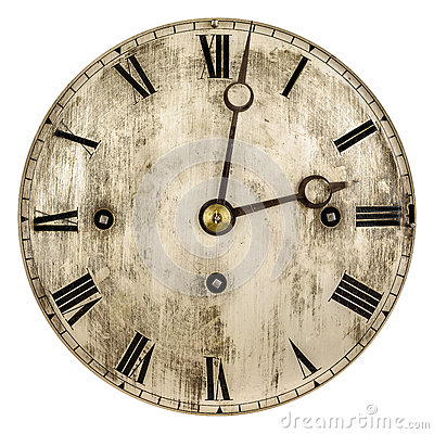 Free Sepia Toned Image Of An Old Clock Face Stock Photo - 84237680