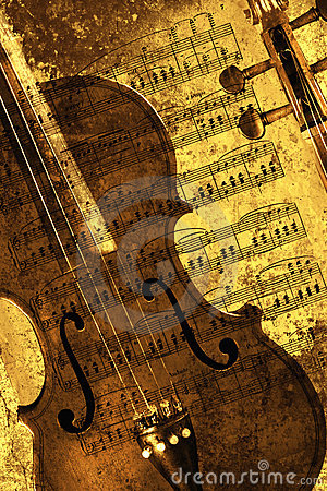 Free Sepia Violin Stock Photos - 8645693