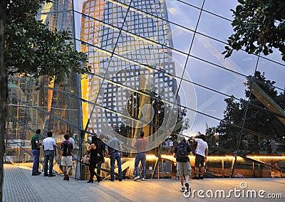 September 11 memorial Editorial Photography