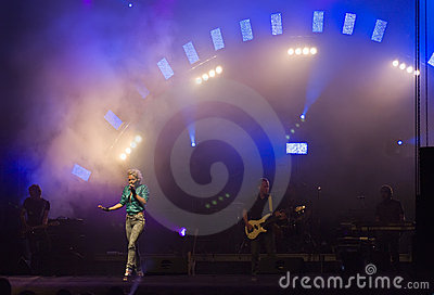September in concert Editorial Stock Photo