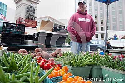 September Harvest at Farmer s Market Editorial Photography