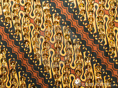 Sequined Batik