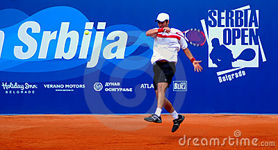 Serbia Open 2009 - ATP 250 Editorial Stock Image