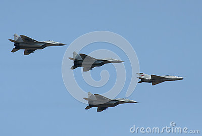 Serbian airforces Editorial Stock Image