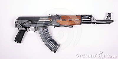 Serbian assault rifle KALASHNIKOV