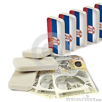 Serbian crisis domino effect