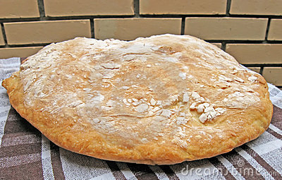 Serbian domestic bread