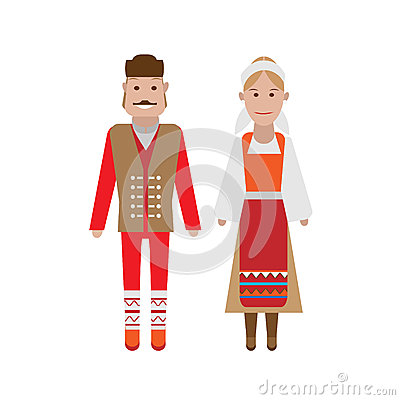 Serbian national costume