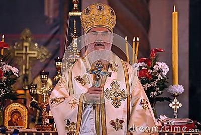 Serbian Patriarch IRINEJ-9 Editorial Image