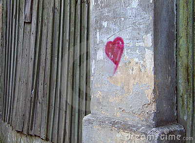 Serce do ściany