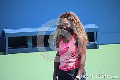 Serena Williams Editorial Stock Photo