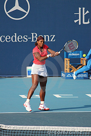 Serena Williams (USA), tennis player Editorial Stock Photo