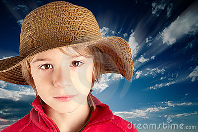 Serene child