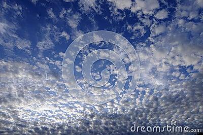 Serene cloudscape