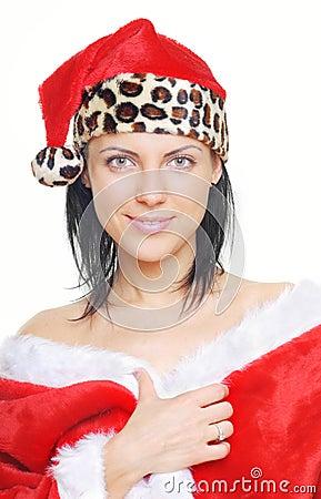 Serene Santa Claus