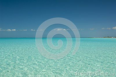 Serene Waters of Cat Island Bahamas
