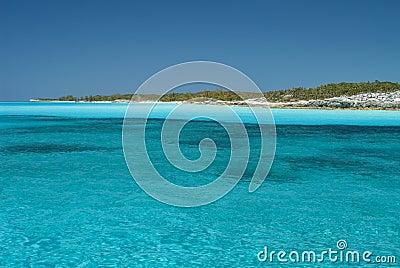 Serene Waters of Cat Island Bahamas
