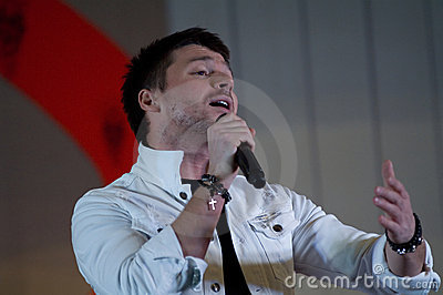 Sergey Lazarev Editorial Photo