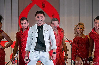 Sergey Lazarev Russian actor and singer Editorial Stock Image
