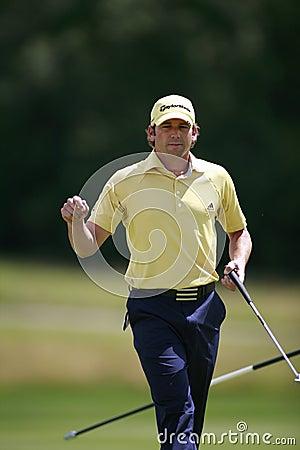 Sergio Garcia PGA  European Open Editorial Stock Image