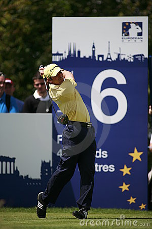 Sergio Garcia PGA European Tour European Open Editorial Photo