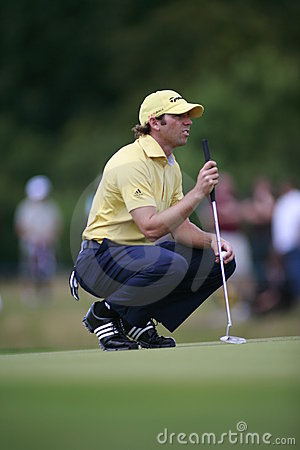 Sergio Garcia PGA European Tour European Open Editorial Stock Photo
