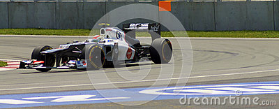 Sergio Perez Editorial Stock Image