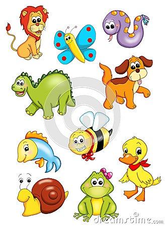 Serie de animales