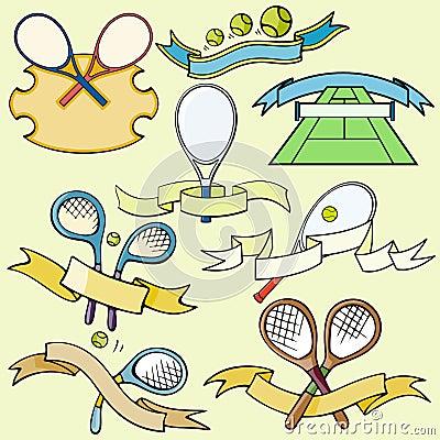 Serie de la plantilla del deporte