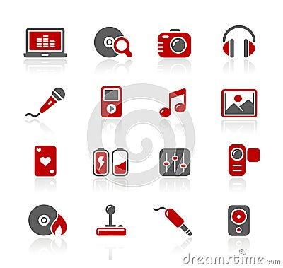 Serie di // Redico di intrattenimento & di media