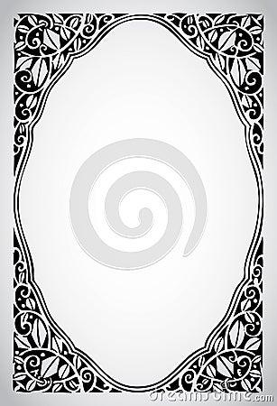 Serie ornamentale del blocco per grafici dell annata