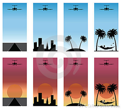 Series of airplane