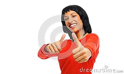 Series of hand gestures