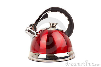 Series of images of kitchen ware. Kettle