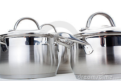Series of images of kitchen ware. Pan