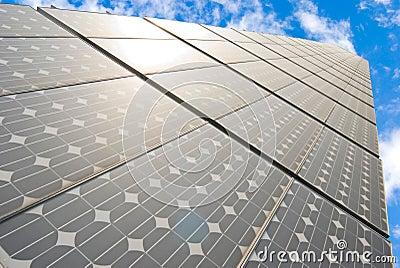 Series of solar energy panels