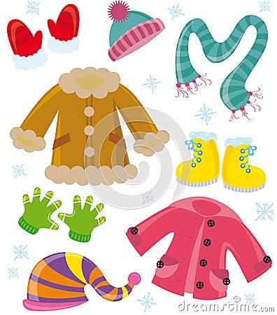 Serii odzieżowa zima