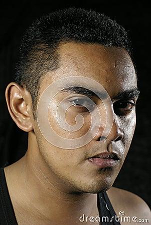 Free Serious Asian Man Portrait Royalty Free Stock Photos - 6591848