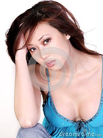 Free Serious Asian Woman Stock Photos - 2060413