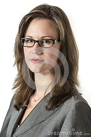 Free Serious Business Woman Royalty Free Stock Image - 36962116