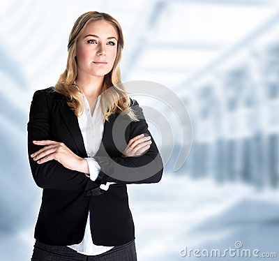 Free Serious Business Woman Stock Image - 39002551