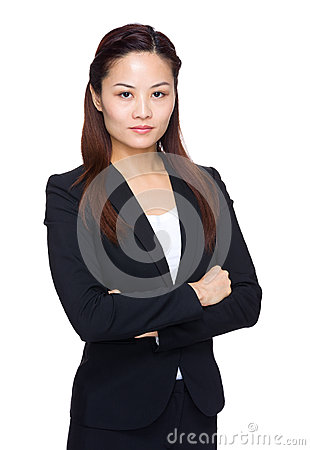 Free Serious Business Woman Royalty Free Stock Photo - 41703125