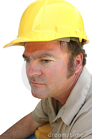 Serious Hard Hat Guy